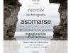 """Cartel exposición """"Asomarse"""""""