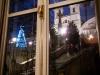 Una ventana de Piazza de Spagna