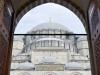 Entrada a la Mezquita Azul