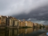 La tormenta sobre el Arno