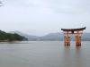 El torii en el mar