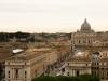 El Vaticano desde el Castel Sant'Angelo