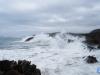 El mar embravecido