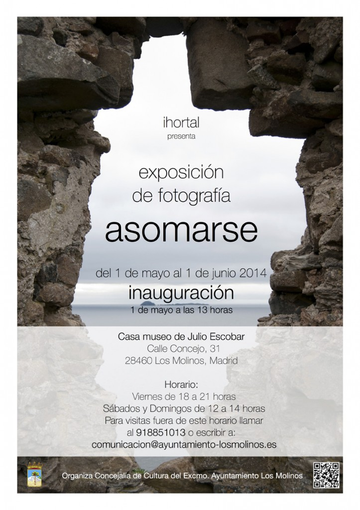 Cartel Asomarse ihortal_web