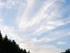 Nubes que escapan de las montañas