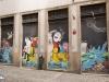 Graffiti en cuatro partes