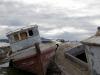 Los restos del naufragio