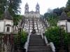 La escalinata del Santuario