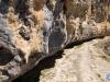 La línea que corta la montaña