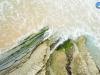 Lajas sobre el mar